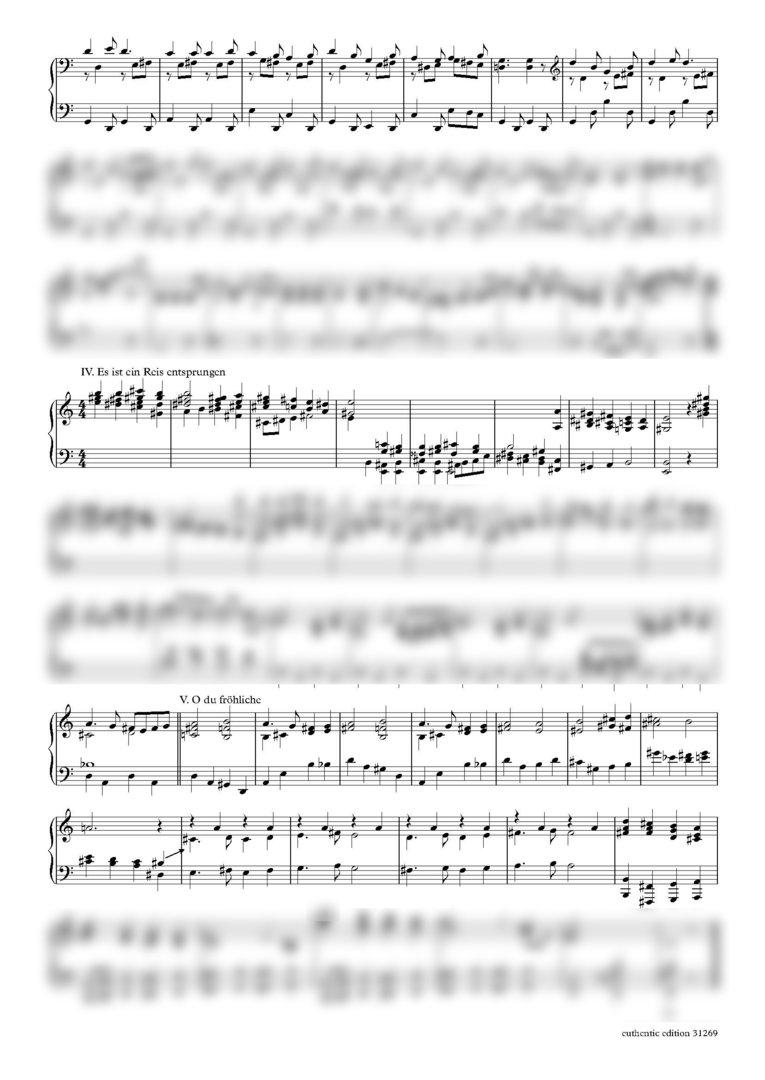 Kranzhoff, Ferdinand Wilhelm: Weihnachtsliederfolge op. 58 für ...